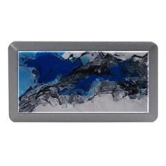 Blue Abstract No 4 Memory Card Reader (mini)