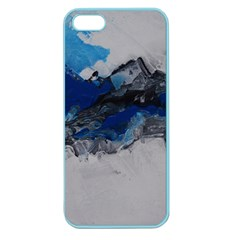 Blue Abstract No 4 Apple Seamless Iphone 5 Case (color)