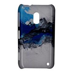Blue Abstract No 4 Nokia Lumia 620