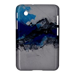Blue Abstract No 4 Samsung Galaxy Tab 2 (7 ) P3100 Hardshell Case
