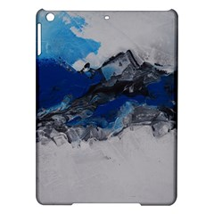 Blue Abstract No 4 Ipad Air Hardshell Cases