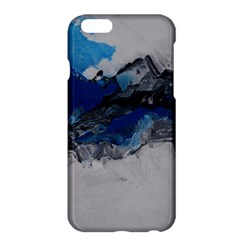 Blue Abstract No.4 Apple iPhone 6 Plus Hardshell Case