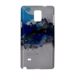 Blue Abstract No.4 Samsung Galaxy Note 4 Hardshell Case