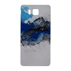 Blue Abstract No.4 Samsung Galaxy Alpha Hardshell Back Case