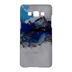 Blue Abstract No.4 Samsung Galaxy A5 Hardshell Case