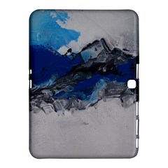 Blue Abstract No.4 Samsung Galaxy Tab 4 (10.1 ) Hardshell Case