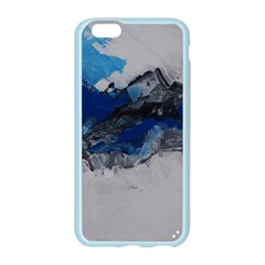 Blue Abstract No.4 Apple Seamless iPhone 6 Case (Color)