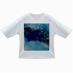 Blue Abstract No.5 Infant/Toddler T-Shirts