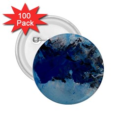 Blue Abstract No 5 2 25  Buttons (100 Pack)