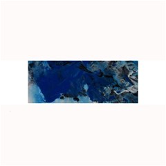Blue Abstract No 5 Large Bar Mats