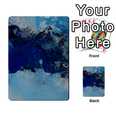 Blue Abstract No.5 Multi-purpose Cards (Rectangle)
