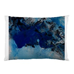 Blue Abstract No 5 Pillow Cases