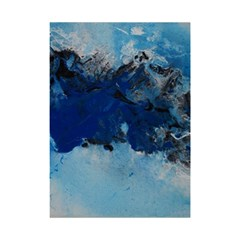 Blue Abstract No.5 Shower Curtain 48  x 72  (Small)