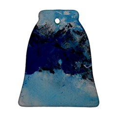 Blue Abstract No.5 Bell Ornament (2 Sides)