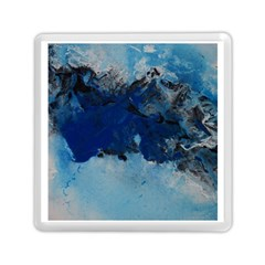 Blue Abstract No.5 Memory Card Reader (Square)