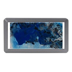 Blue Abstract No 5 Memory Card Reader (mini)