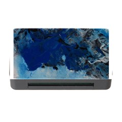Blue Abstract No.5 Memory Card Reader with CF