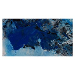 Blue Abstract No.5 YOU ARE INVITED 3D Greeting Card (8x4)