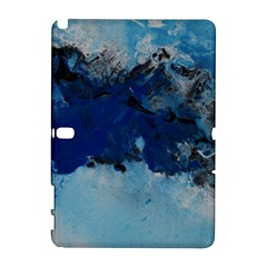 Blue Abstract No 5 Samsung Galaxy Note 10 1 (p600) Hardshell Case