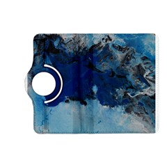 Blue Abstract No 5 Kindle Fire Hd (2013) Flip 360 Case
