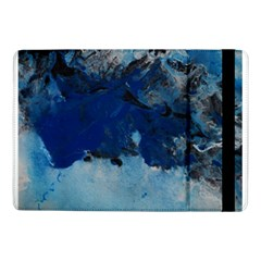Blue Abstract No 5 Samsung Galaxy Tab Pro 10 1  Flip Case