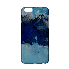 Blue Abstract No.5 Apple iPhone 6 Hardshell Case