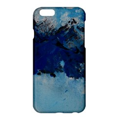 Blue Abstract No.5 Apple iPhone 6 Plus Hardshell Case
