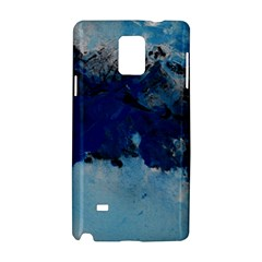 Blue Abstract No.5 Samsung Galaxy Note 4 Hardshell Case