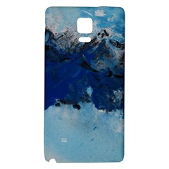 Blue Abstract No.5 Galaxy Note 4 Back Case