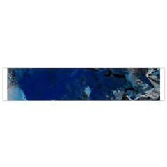 Blue Abstract No.5 Flano Scarf (Small)