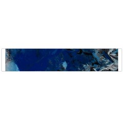 Blue Abstract No.5 Flano Scarf (Large)