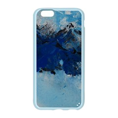 Blue Abstract No.5 Apple Seamless iPhone 6 Case (Color)
