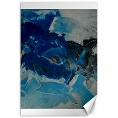 Blue Abstract No  6 Canvas 20  X 30
