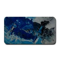 Blue Abstract No. 6 Medium Bar Mats