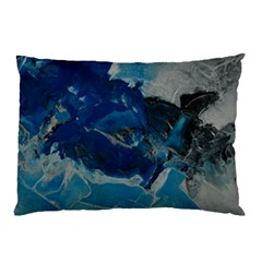 Blue Abstract No. 6 Pillow Cases