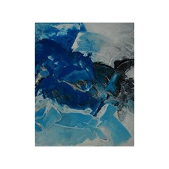 Blue Abstract No. 6 Shower Curtain 48  x 72  (Small)
