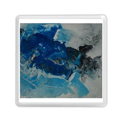 Blue Abstract No. 6 Memory Card Reader (Square)