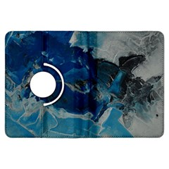 Blue Abstract No. 6 Kindle Fire HDX Flip 360 Case