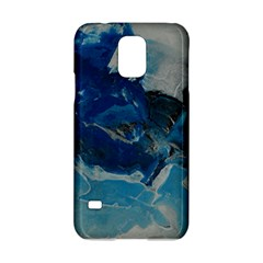 Blue Abstract No  6 Samsung Galaxy S5 Hardshell Case