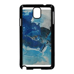 Blue Abstract No  6 Samsung Galaxy Note 3 Neo Hardshell Case (black)