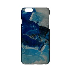 Blue Abstract No. 6 Apple iPhone 6 Hardshell Case