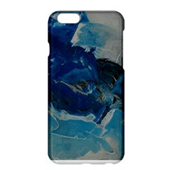 Blue Abstract No. 6 Apple iPhone 6 Plus Hardshell Case