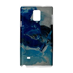 Blue Abstract No  6 Samsung Galaxy Note 4 Hardshell Case