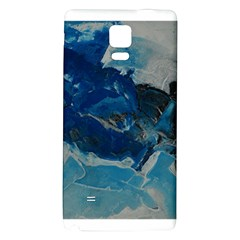 Blue Abstract No. 6 Galaxy Note 4 Back Case