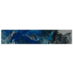 Blue Abstract No. 6 Flano Scarf (Small)