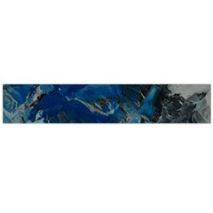 Blue Abstract No. 6 Flano Scarf (Large)