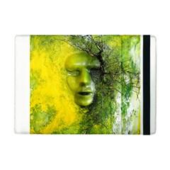 Green Mask iPad Mini 2 Flip Cases