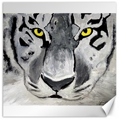 The Eye If The Tiger Canvas 16  X 16