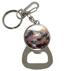 Natural Abstract Landscape Bottle Opener Key Chains