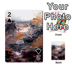 Natural Abstract Landscape Playing Cards 54 Designs